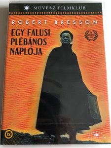 Journal D'un Curé de Campagne DVD 1951 Egy falusi plébános naplója (The Diary of a Country Priest) / Directed by Robert Bresson / Starring: Claude Laydu (5999886090005)