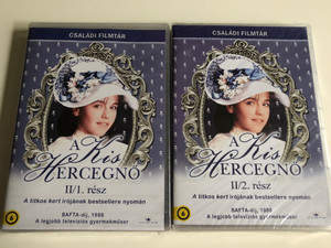 A little princess II. DVD SET 1986 A Kis Hercegnő II. / British Miniseries Parts 1-2 / Directed by Carol Wiseman / Starring: Amelia Shankley, Maureen Lipman, Miriam Margoyles, Anette Badland / Based on F.H. Burnett's work 5999886089245 5999884689252