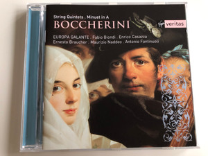 Boccherini String Quintets, Minuet in A / Europa Galante - Fabio Biondi - Enrico Casazza - Ernesto Braucher - Maurizio Naddeo - Antonio Fantinuoli / Audio CD 2001 / Virgin Classics (724354542121)
