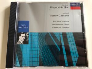 Gershwin - Rhapsody in Blue / Addinsell - Warsaw Concerto / Audio CD 1991 / Liszt, Litolff, Gottschalk, Katia and Marielle Labéque, Cristina Ortiz, Jorge Bolet / Decca / BA924 (028943072625)