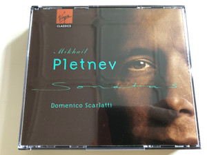 Domenico Scarlatti - Keyboard Sonatas / Mikhail Pletnev / Audio CD 1995 / Virgin Classics / VCD5451232 (724354512322)