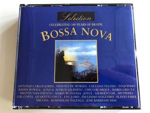 Bossa Nova Selection / Celebrating 500 years of Brazil / Antonio Carlos Jobim - Caetano Veloso - Joao & Astrud Gilberto - Joyce - Gilberto Gil - Gal Costa - Flavio Faria - José Barrense Dias / Audio CD 2000 / DCD-936 BLU / 2 CD (DCD-936BLU)