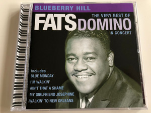 Blueberry Hill / The Very Best of Fats Domino in Concert / Audio CD 1997 / PLATCD 220 (5014293622028)