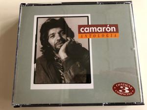 Camarón Antologia / Anthology / 3 Audio CD set 1996 / Vol 1-3. Fundamentos - Grandeza - Apoetosis / Polygram (731453292925)