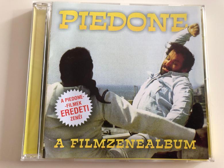 Piedone - A filmzene album / Piedone movies official soundracks / A Piedone-filmek Eredeti Zenéi / Piedone, a zsaru, Piedone Hongkongban, Piedone Afrikában, Piedone Egypitomban / Audio CD / HG796 (5999883601969)
