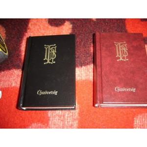 Miniature Hungarian New Testament / Mini Magyar Újszövetségi Szentírás / Kato...