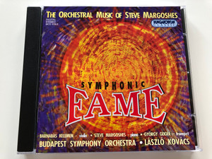Symphonic Fame  - The Orchestral Music Of Steve Margoshes / New Works for a New Century / Conducted by László Kovács / Produced by David De Silva and Edit Simon / HCD31913 Hungaroton Classic / AUDIO CD 1999 / Budapest Symphony Orchestra