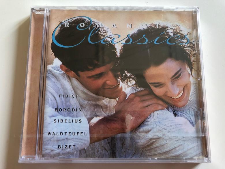 Romantic Classics - Fibich, Borodin, Sibelius, Waldteufel, Bizet / Audio CD 1996 / Herbert von Karajan, Rudolf Kempe, Felix Slatkin / Berlin Philharmonic Orchestra, Hollywood Bowl Symphony Orchestra / Disky (0724357009225)
