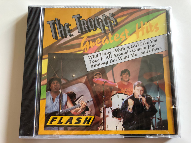 The Troggs Greatest Hits / Wild Thing, Love is all around, Cousin Jane, Give it to me, Anyway you want me / Audio CD / Flash / 8326-2 (3624483262)