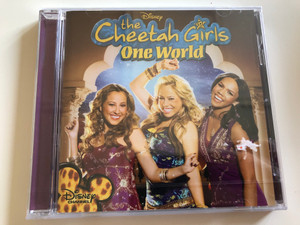 The Cheetah Girls - One World / Cheetah Love, Dig a little Deeper, No place like us, Circle Game / Walt Disney Records / Audio CD 2008 (5099926711829)