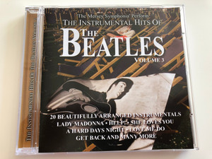The Instrumental Hits of The BEATLES Vol. 3 / Mersey Symphonia / 20 Beautifully arranged instrumentals / Lady Madonna - Help! - She Loves You / Audio CD 2000 / APWCD1044 / MusicBank (5029248106928)