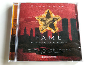 Fame - Performed by C.C Productions / includes - fame, out there on my own, red light, is it okay to call you mine / the energy, the excitement! / GFS186 (5033107118625)