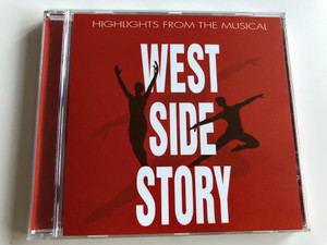 West Side Story - Highlights from the musical / Something's Coming, Maria, Tonight, America, Cool, Rumble / Leonard Bernstein - Stephen Sondheim / Audio CD 2003 / 142.023 / LC10922 (9002986420231)