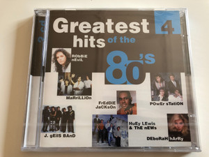 Greatest hits of the 80's vol. 4 / Robbie Nevil, Marrillion, Freddie Jackson, Power Station, J. Geils Band, Huey Lewis & The News, Deborah Harry / 2 CD / Disky / DO 996392 (0724389963922)