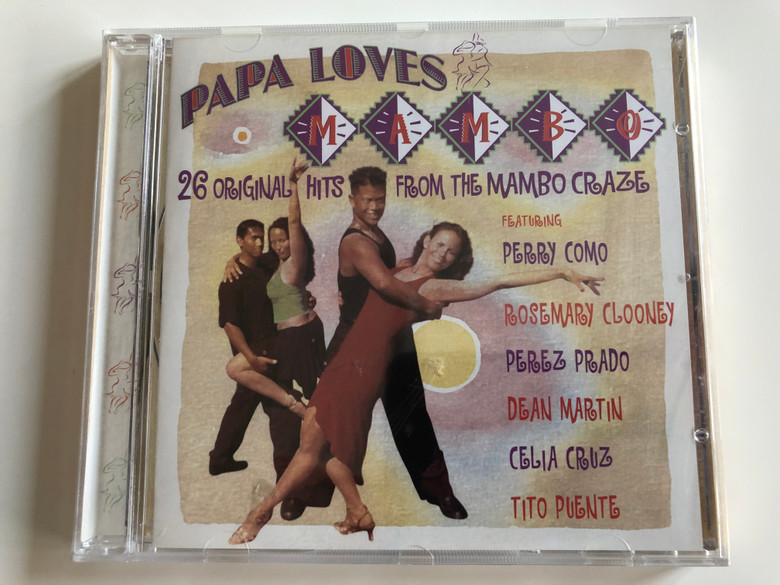 Papa Loves Mambo / 26 Original Hits From the Mambo Craze / Featuring Perry Como, Rosemary Clooney, Perez Prado, Dean Martin, Celia Cruz, Tito Puente / Audio CD 2006 / PlatCD 1335 (5050824133526)