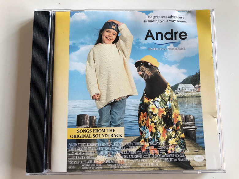 Andre - Based on a true Story / Songs from the Original Soundtrack / The greatest adventure is finding your way home / Audio CD 1994 / 8122-71802-2 / CA 851 (081227180225)