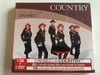 Country - Collection Dansez! / Dansez la Country! / Country dance collection / Learn the country dance / The Hedgehogs / Directed & Produced by Jean-Luc Barreau / Audio CD + DVD 2009 / WAG737 (3596971405823)