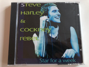 Steve Harley & Cockney Rebel - Star for a week / Mr. soft, Mr. Raffles, When I'm with you, Riding the waves, Sling It!, Make me smile / Audio CD 1993 (78055482202)