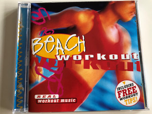 Beach Workout - Real Workout music / Performed by Rhythm 2 Rhythm / Including Free Workout Tips / With Workout Miniposter / Audio CD 1998 / Disky DC 851312 (0724348513120)