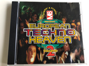 M8 presents European Techno Heaven Vol. 2 / Jumpin' & Pumpin' / DJ Paul Elstak, Scooter, Phonki, Technohead, Scott Brown vs Rab S. / Audio CD 1996 / CD TOT 39 (5013993903925)