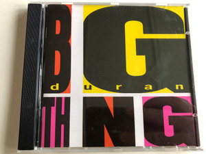 Duran Duran - Big Thing / Too late Marlene, Drug, Do you believe in shame?, The Edge of America / CDPRG 1007 / Audio CD - Recording from 1988 / EMI records (077778983422)