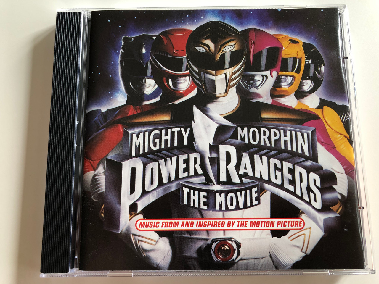 Mighty Morphin Power Rangers The Movie OST / Music from and inspired by the  motion picture / Red Hot Chili Peppers, Van Halen, Shampoo / Audio CD 1995
