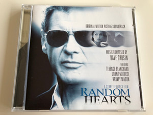 Original Motion Picture Soundtrack - Random Hearts / Composed by Dave Grusin / Featuring Terence Blanchard, John Patitucci, Harvey Manson / A Sydney Pollack Film / AUDIO CD 1999 (5099705133620)