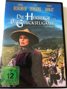 Die Herberge zur 6. Glückseligkeit DVD 1958 The Inn of the Sixth Happiness / Directed by Mark Robson / Starring: Ingrid Bergman, Curt Jürgens, Robert Donat (4010232015709)