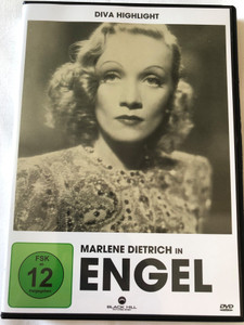 Engel DVD 1937 Angel / Directed by Ernst Lubitsch / Starring: Marlene Dietrich, Herbert Marshall, Melvyn Douglas / Diva Highlight (4020628950026)