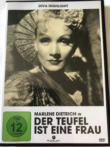Der Teufel Ist eine Frau DVD 1935 The Devil Is a Woman / Directed by Josef von Sternberg / Starring: Marlene Dietrich, Lionel Atwill, Cesar Romero / Diva Highlight (4020628950019)