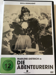 Die Abenteurerin DVD 1941 The Flame of New Orleans / Directed by René Clair / Starring: Marlene Dietrich, Bruce Cabot, Roland Young, Mischa Auer, Andy Devine, Eddie Quillan, Anne Revere / Diva Highlight (4020628947729)