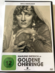 Goldene Ohrringe DVD 1947 Golden Earrings / Directed by Mitchell Leisen / Starring: Ray Milland, Marlene Dietrich / Diva Highlight (4020628947743)