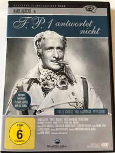 F.P 1 Antwortet nicht DVD 1932 F.P.1 Doesn't Respond / Directed by Karl Hartl / Starring: Hans Albers, Sybille Schmitz, Peter Lorre / Deutsche Filmklassiker (4020628961329)