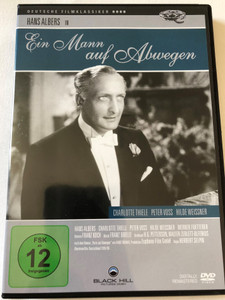 Ein Mann auf Abwegen DVD 1940 A Man on the Wrong side / Directed by Herbert Selpin / Starring: Hans Albers, Charlotte Thiele, Peter Voss, Hilde Weissner / Digitally Remastered / Deutsche Filmklassiker (4020628954819)