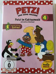Petzi und Seine Freunde 4. DVD 2004 Petzi and his friends / Petzi im Kakteenwald und weitere Abenteuer / 9 episodes on disc / Classic German Cartoon
