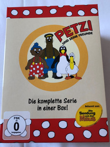 Petzi und Seine Freunde DVD SET 2004 Petzi and his friends / 6 discs - 52 episodes / Classic German Cartoon (4250148700669)