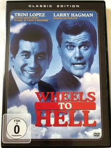 Wheels to Hell DVD 1973 Zwei himmlische Schlitzohren AKA Antonio / Directed by Claudio Guzman / Starring: Trini Lopez, Larry Hagman / Classic Edition (4049774470592)
