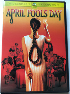 April Fool's Day DVD 1986 / Directed by Fred Walton / Starring: Jay Baker, Deborah Foreman, Deborah Goodrich, Ken Olandt, Griffin O'Neal, Leah King Pinsent, Clayton Rohner, Amy Steel (7312065005719)