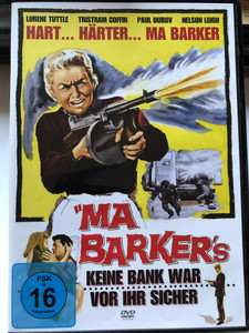 Ma Barker's keine Bank War vor Ihr Sicher DVD 1960 Ma Barker's Killer Brood / Directed by Bill Karn / Starring: Lurene Tuttle, Tristam Coffin, Paul Dubov, Nelson Leigh, Myrna Dell, Dan White, Eric Sinclair, Robert Kendall (4051238019391)