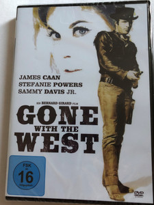 Gone with the West DVD 1975 / Directed by Bernard Girard / Starring: James Caan, Stefanie Powers / American Western (4049774471803)
