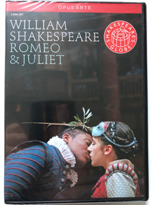 William Shakespeare - Romeo & Juliet / Opus Arte / Directed by Dominic Dromgoole / Composer Nigel Hess, Choreography: Sian Williams / Main Roles: Adetomiwa Edun, Ellie Kendrick / Filmed live at Shakespeare's Globe, London / 2 Disc Set (809478010296)