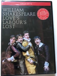 William Shakespeare - Love's Labour's Lost DVD 2010 / Opus Arte / Play Directed by Dominic Dromgoole / Film Director: Ian Russel / Main Roles: Jade Anouka, Gemma Arterton, Philip Cumbus / Filmed live at Shakespeare's Globe, London (809478010357)