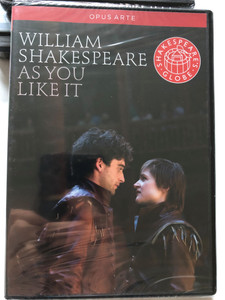William Shakespeare - As You Like it DVD 2010 / Opus Arte / Play Director Thea Sharrock / Film Director Kriss Russman / Main Roles: Gareth Bennett-Ryan, Michael Benz, Philip Bird / Filmed Live at Shakespeare's Globe, London (809478010326)