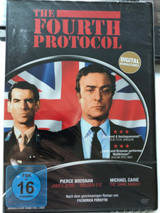The Fourth Protocol DVD 1987 Das vierte Protokoll / Digital Remastered / Directed by John Mackenzie / Starring: Pierce Brosnan, Michael Caine / Based on Frederick Forsyth's bestseller (807297166392)