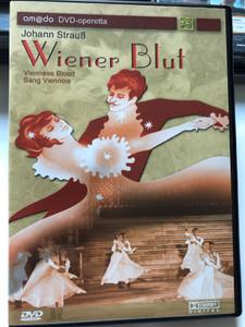 Johann Strauß - Wiener Blut DVD 2003 Viennese Blood / Operetta in 3 Acts / Directed by Alexander Waechter / Starring: Peter Matic, Herbert Lippert, Martina Serafin, Ulrike Steinsky / Operetta by Victor Léon and Leo Stein / amado classics (4028462510024)