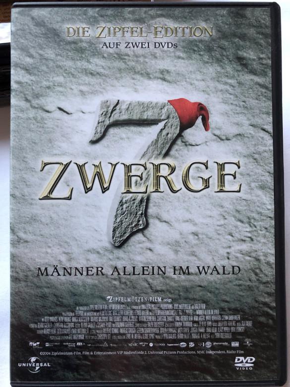 7 Zwerge – Männer allein im Wald DVD 2004 7 Dwarves – Men Alone in the Wood / Directed by Sven Unterwaldt Jr. / Starring: Otto Waalkes, Heinz Hoenig, Mirco Nontschew, Boris Aljinovic / Die Zipfel Edition 2 DVD (5050582327526)