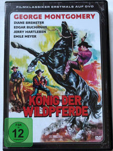 König der WildPferde DVD 1959 King of the Wild Stallions / Directed by R.G. Springsteen / Starring: George Montgomery, Diane Brewster, Edgar Buchanan, Jerry Hartleben / Filmklassiker Erstmals Auf DVD / (4051238059250)