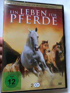 Ein Leben für Pferde DVD 2016 A Life for Horses / 4 Horse-themed movies with over 370 minute runtime / Red Fury, The White Stallion, Bluegrass, Horses / 2 DVD (4051238050080)