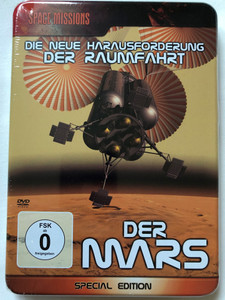 Space Missions - Der Mars - Die neue harausforderung der raumfahrt DVD 2008 Mars - The newest challenges of space travel / Metal box Special Edition / German language documentary (4260157711433)