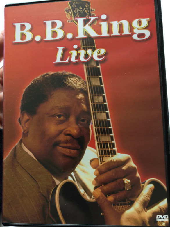 B.B King Live DVD 2005 / To Know You is To Love You, Why I sing the Blues, The Thrill is Gone, Guess Who, Black Blues / 8555 (7619943185557)